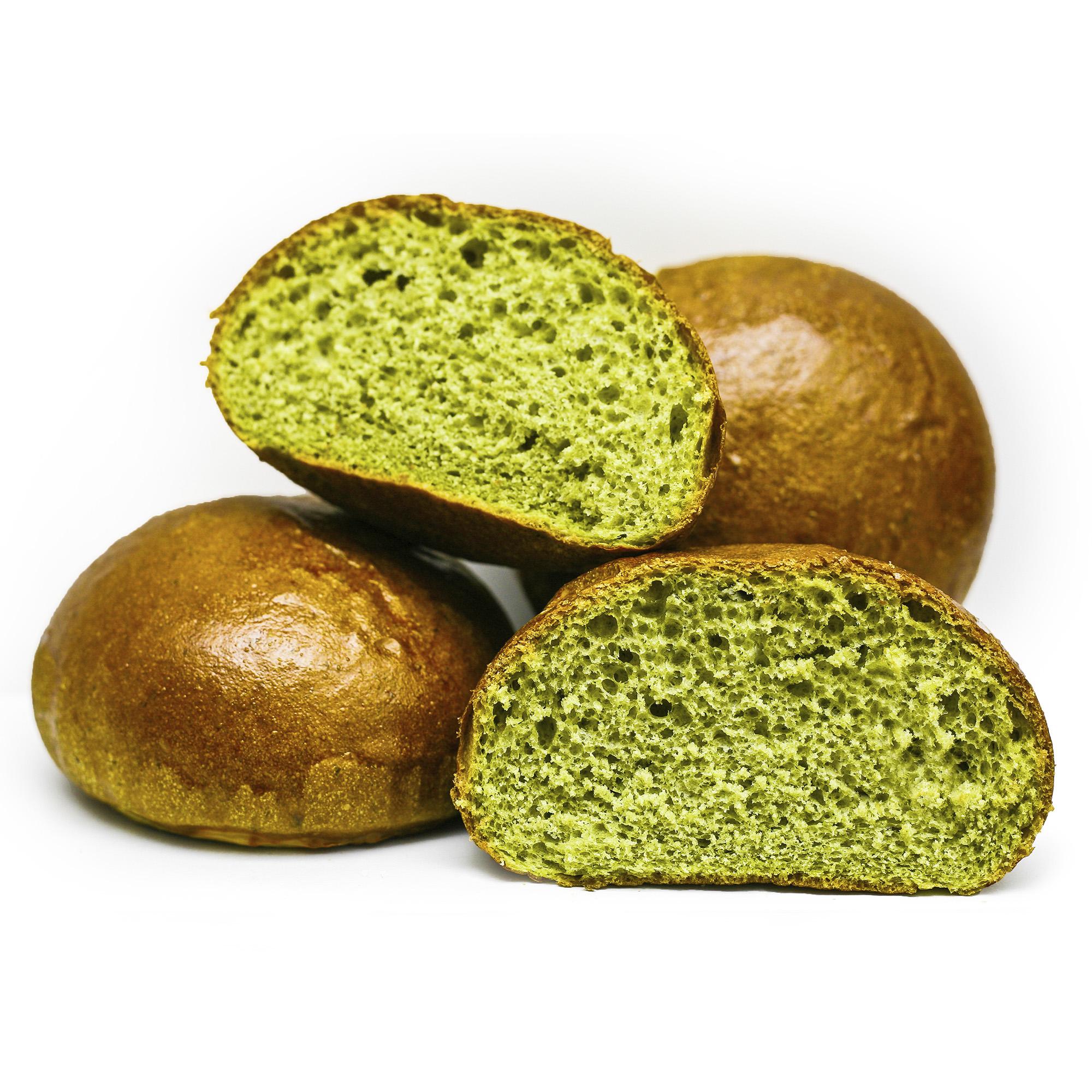 Spinach bun